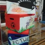 Beschilderde schatkisten in opdracht. Cadeau van een oma aan haar kleinkinderen (2)